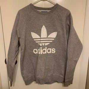 Adidas logo crewneck sweatshirt